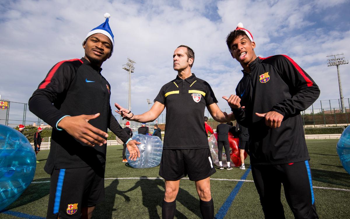 La felicitació nadalenca del Barça B