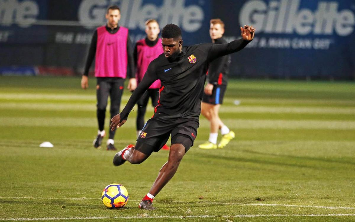Umtiti declared fit and back in squad to face Betis