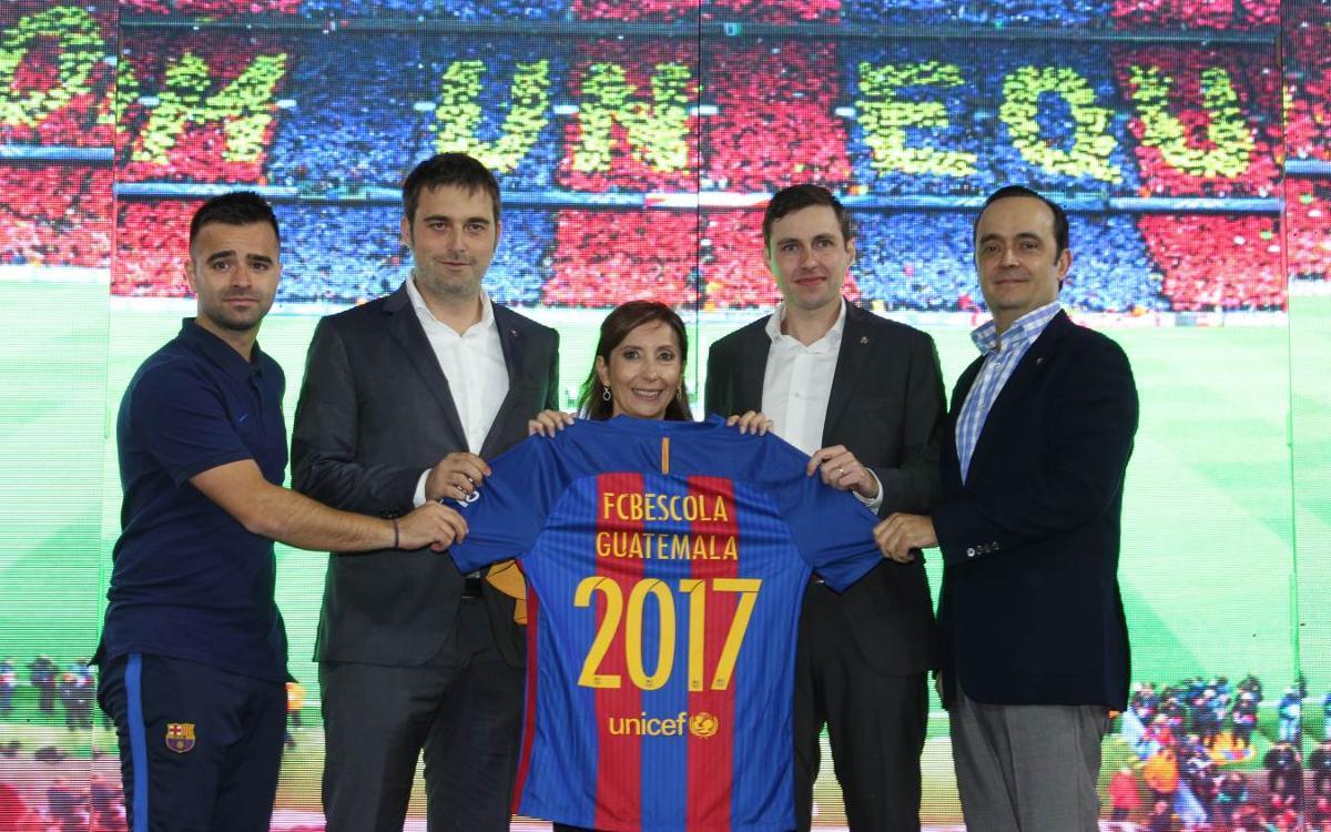 Inaugurada l'FCBEscola Guatemala