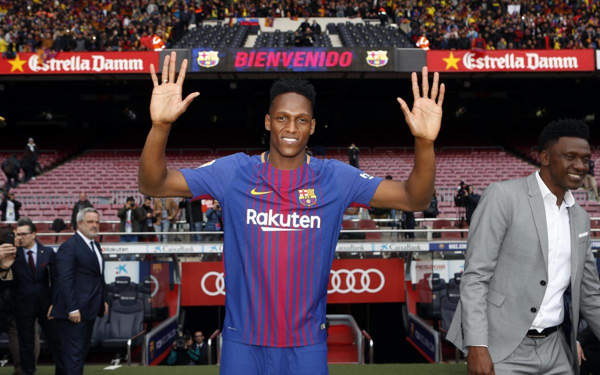 Yerry Mina, el sostre del Barça