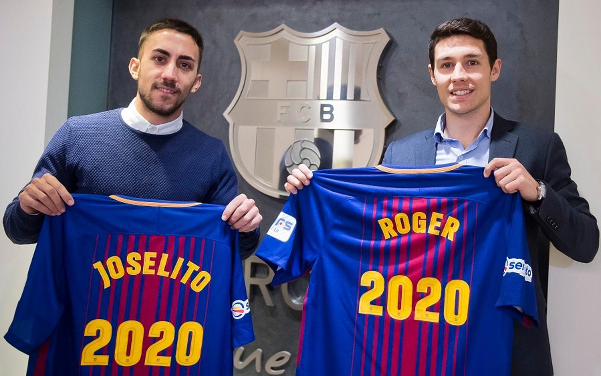 Joselito i Roger renoven fins al 2020