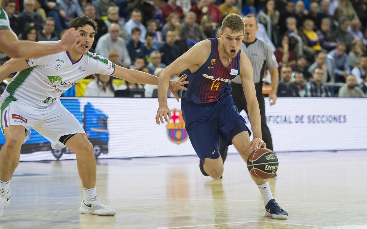 Barça Lassa-Unicaja Màlaga: Reacció insuficient en un final d'infart (73-76)