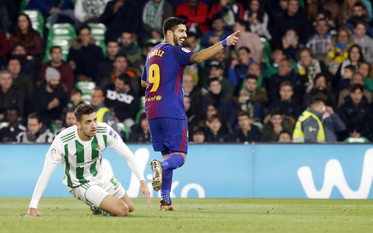 100 gols a la Lliga per a Luis Suárez