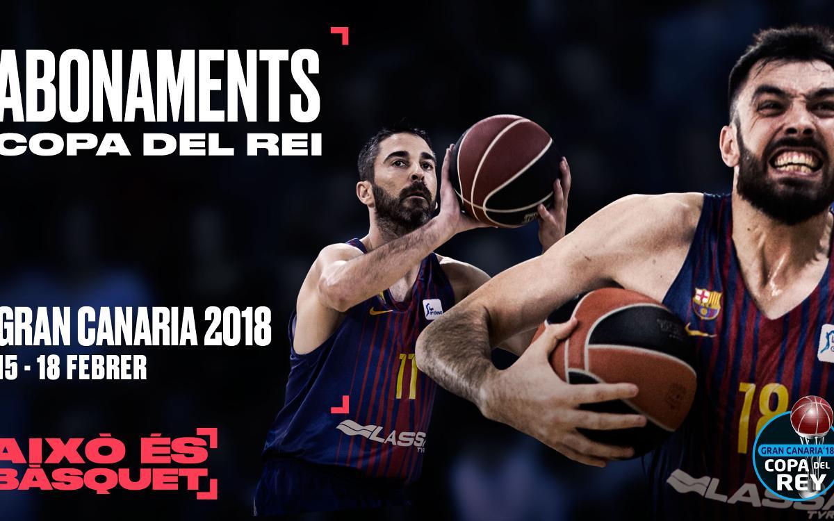 Els abonaments per a la Copa del Rei 2018, a la venda