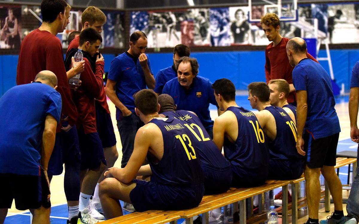 CB Prat - Barça Lassa B: A 40 minutos de un título