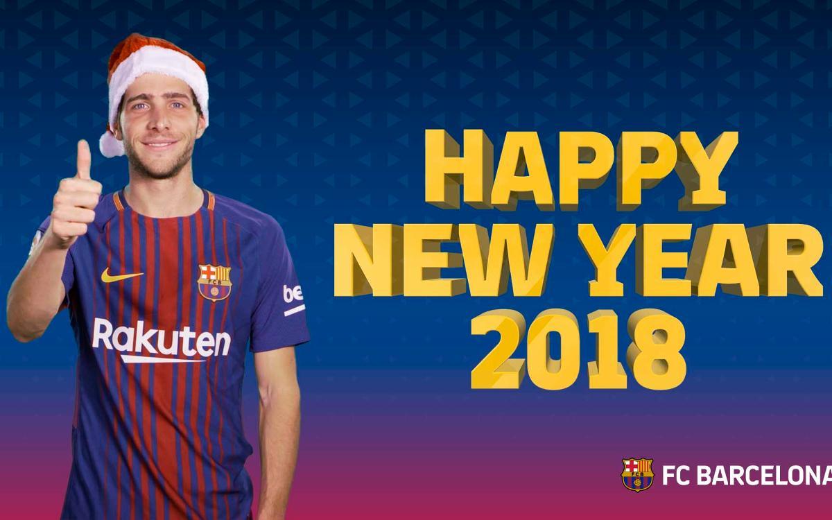 ¡Feliz año nuevo, culés!