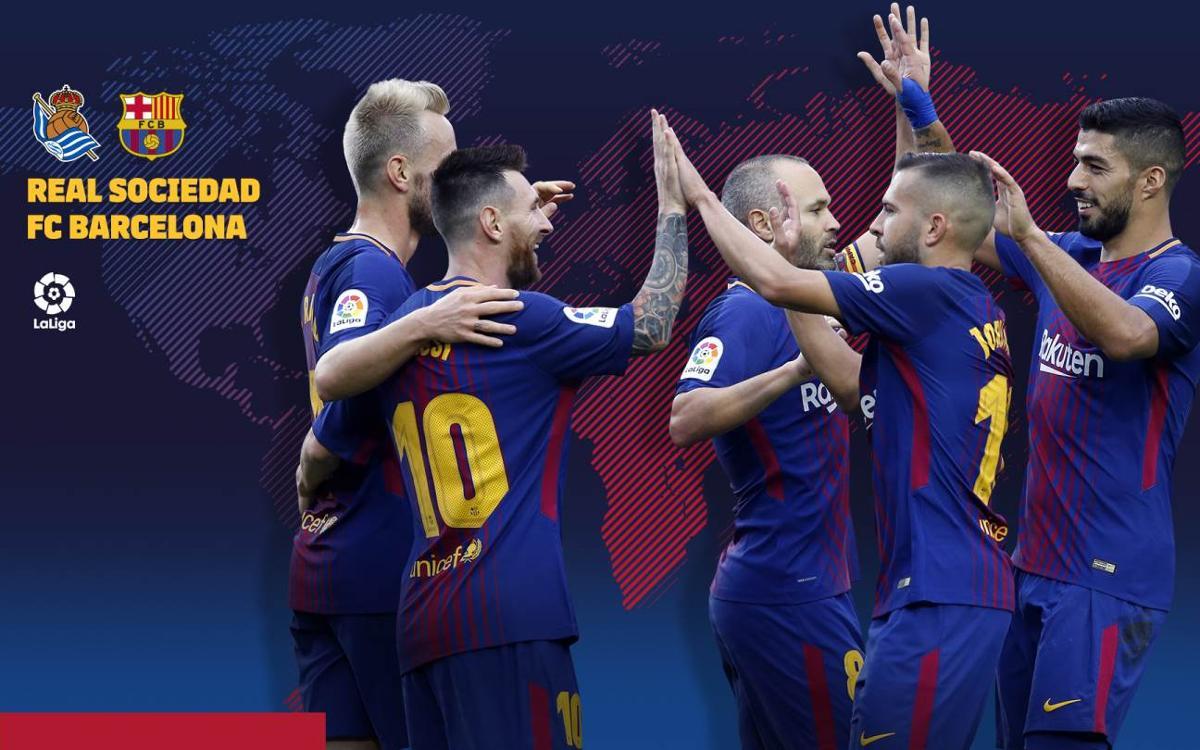 Quan i on es pot veure el Reial Societat-FC Barcelona