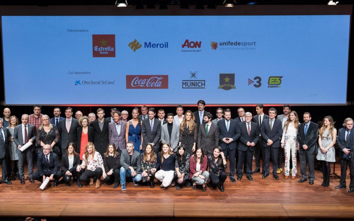 El FC Barcelona, present en la 21a Festa de l'Esport Català