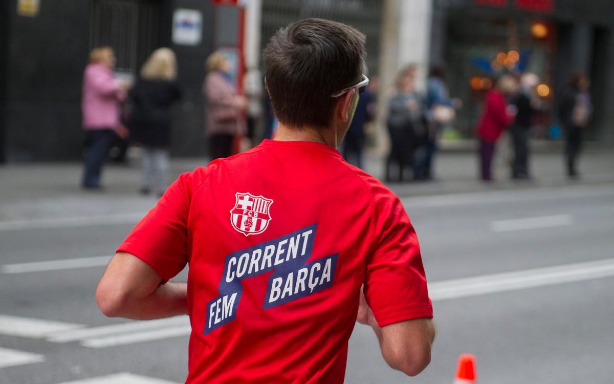 Corrent Fem Barça arriba a la meitat del calendari