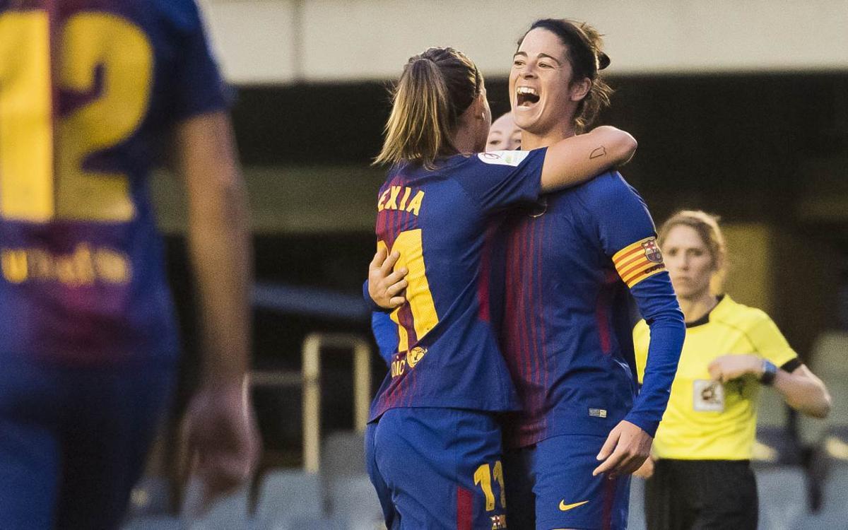 FC Barcelona Femenino - Levante UD (previa): Regalo en el Mini