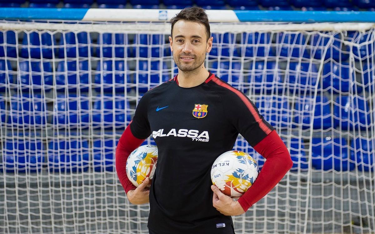 Paco Sedano, mejor portero del mundo del 2017