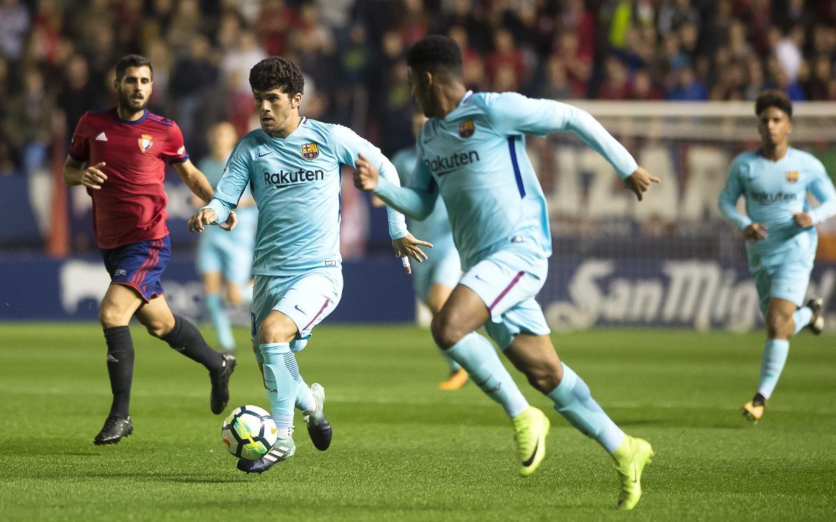 Real Zaragoza – Barça B: A por un 2018 apasionante