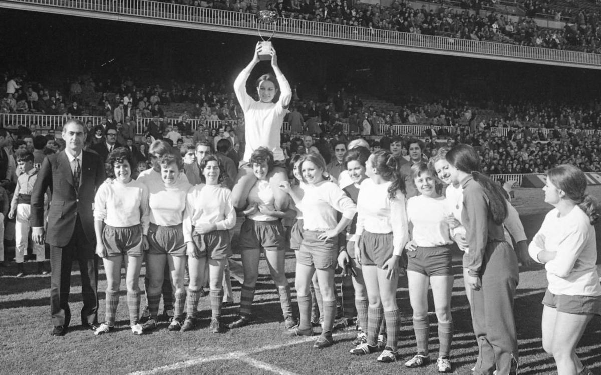 Muere Imma Cabecerán, pionera del fútbol femenino azulgrana