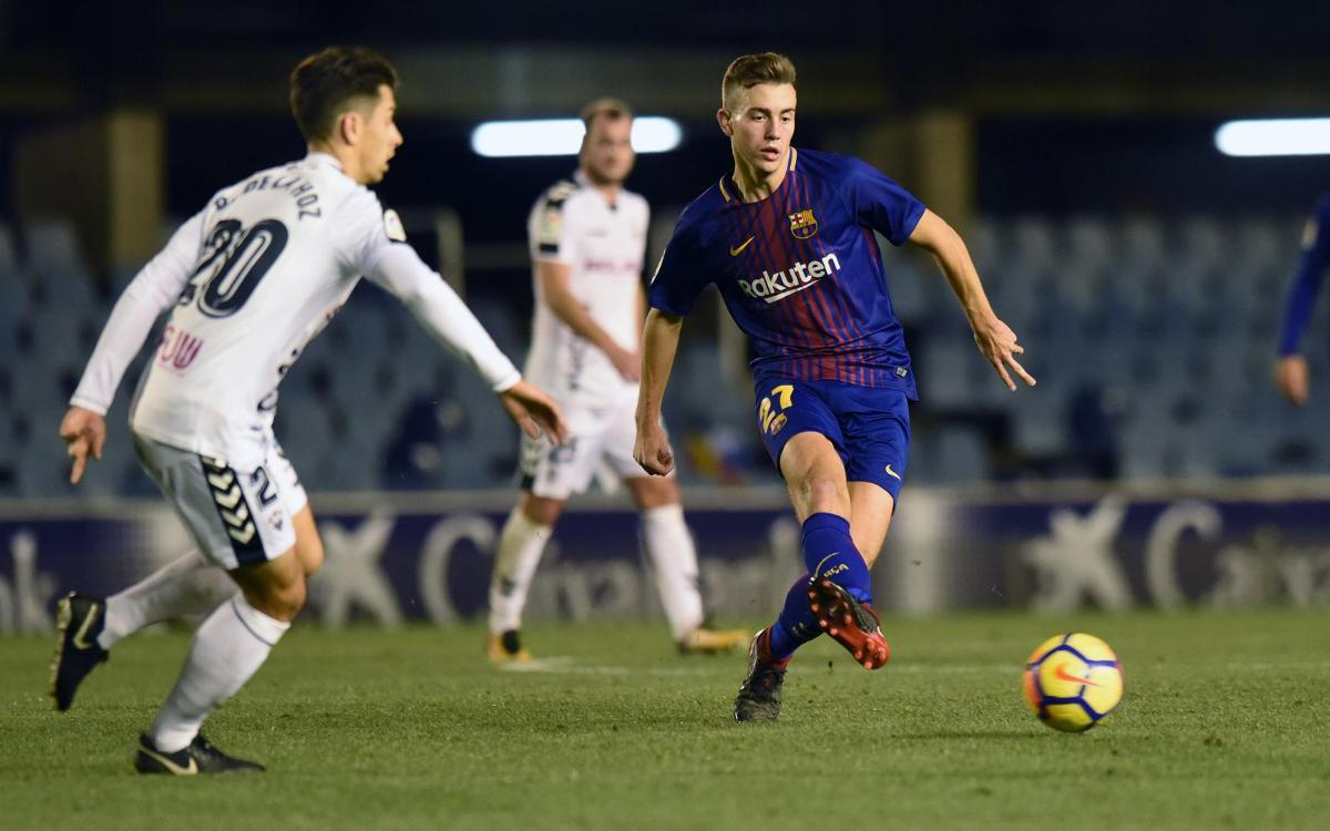 FC Barcelona B – Albacete: Una teranyina massa difícil de trencar (0-1)