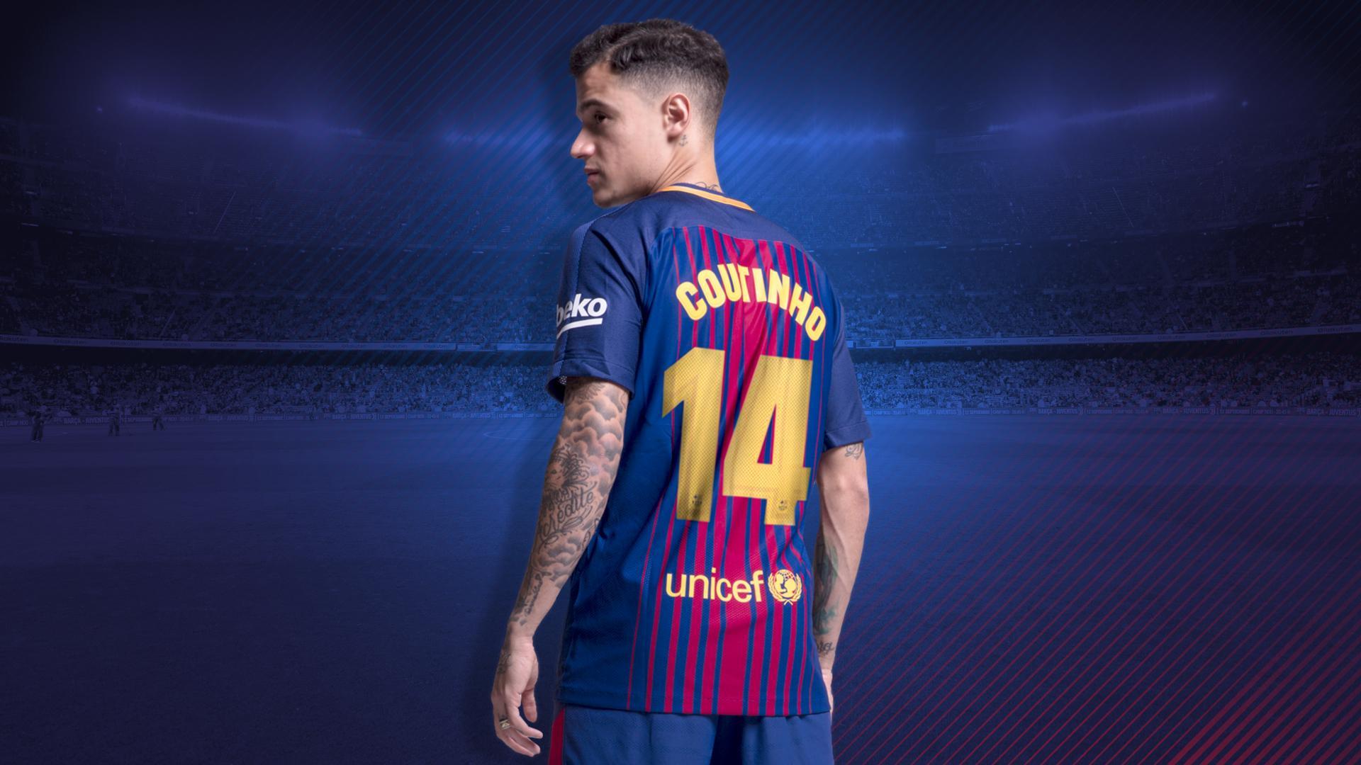 Philipo Coutinho Take No.14 At Barcelona For Upcoming Season
