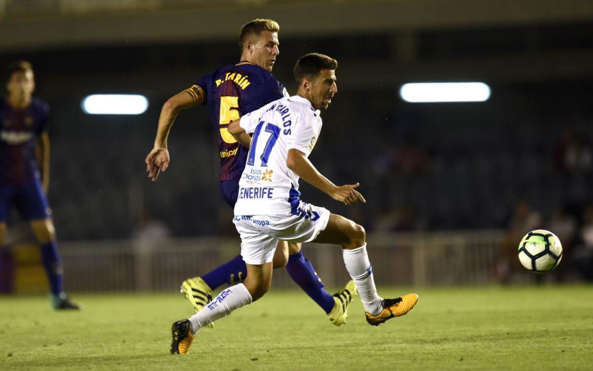 CD Tenerife – Barça B: Sumar a domicili per retallar punts