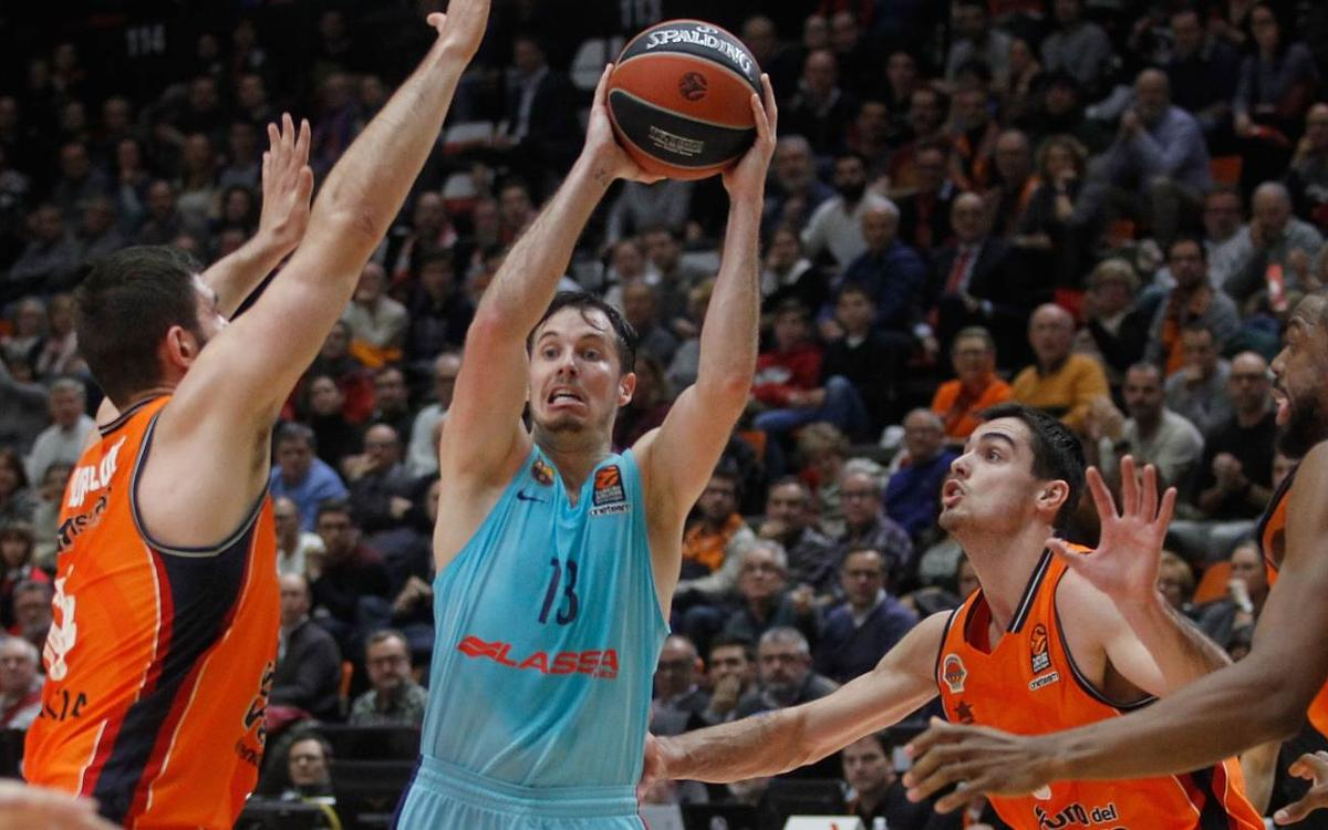 Valencia Basket 81-76 Barça Lassa: Not for want of trying