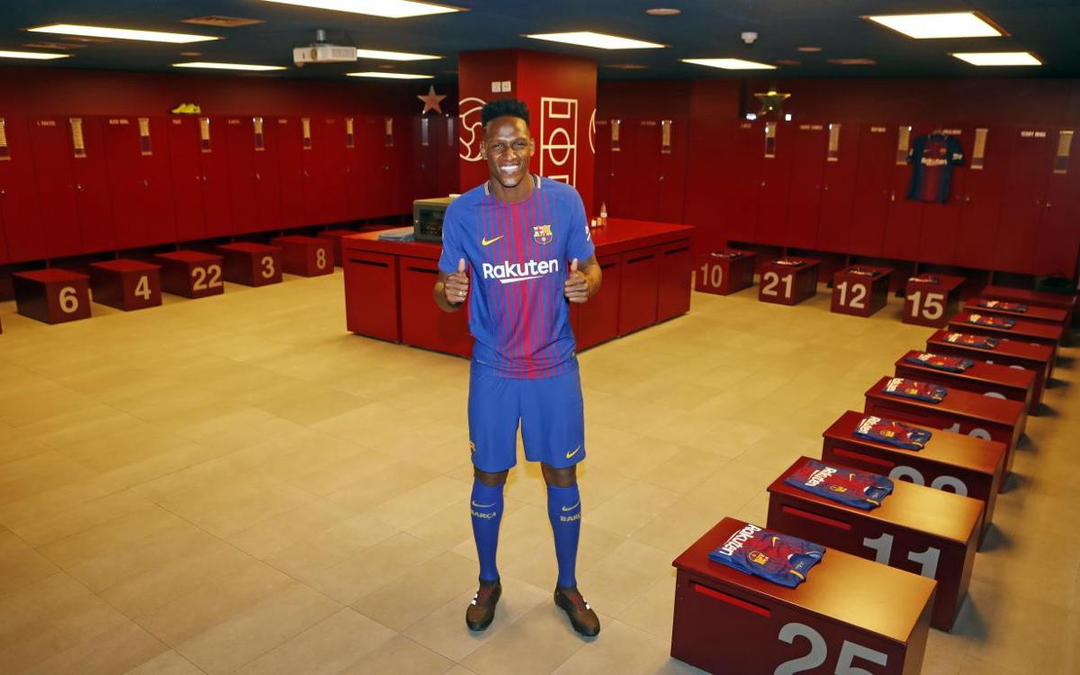 Yerry Mina portera le numéro 24 au FC Barcelone
