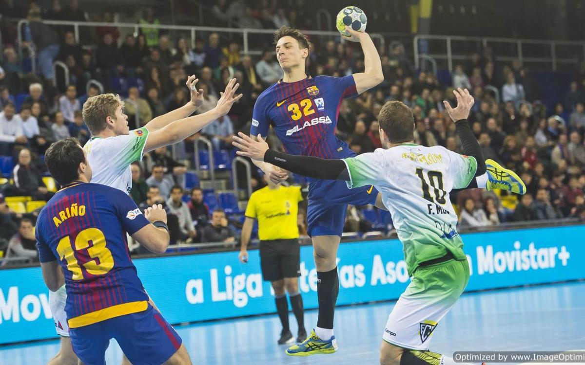 FC Barcelona Lassa 38-26 Anaitasuna: Normal service resumes