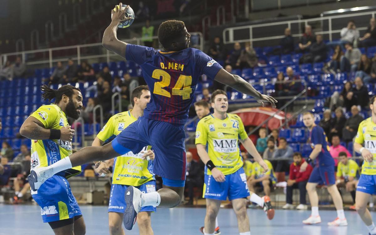 FC Barcelona Lassa – MMT Seguros Zamora: Victòria i bitllet per a la Copa (32 – 20)