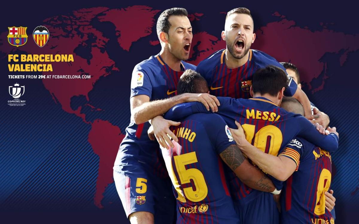 When and where to watch Barça v Valencia