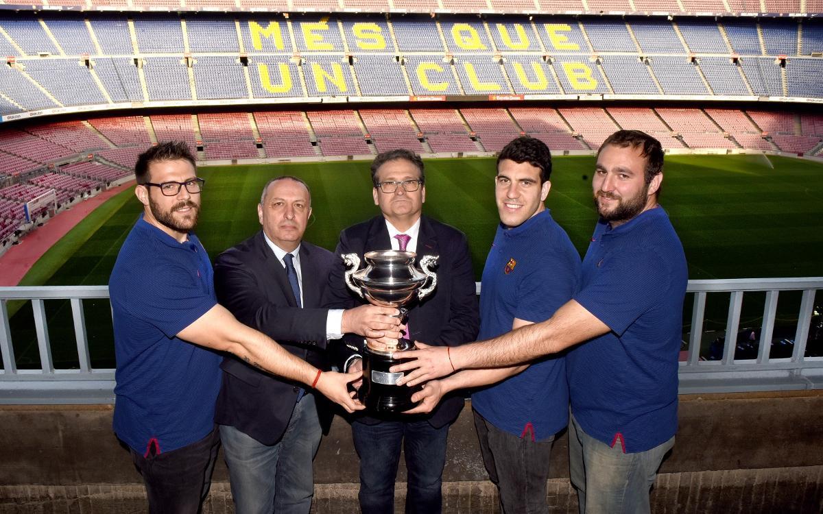 El rey de copas recupera su trofeo