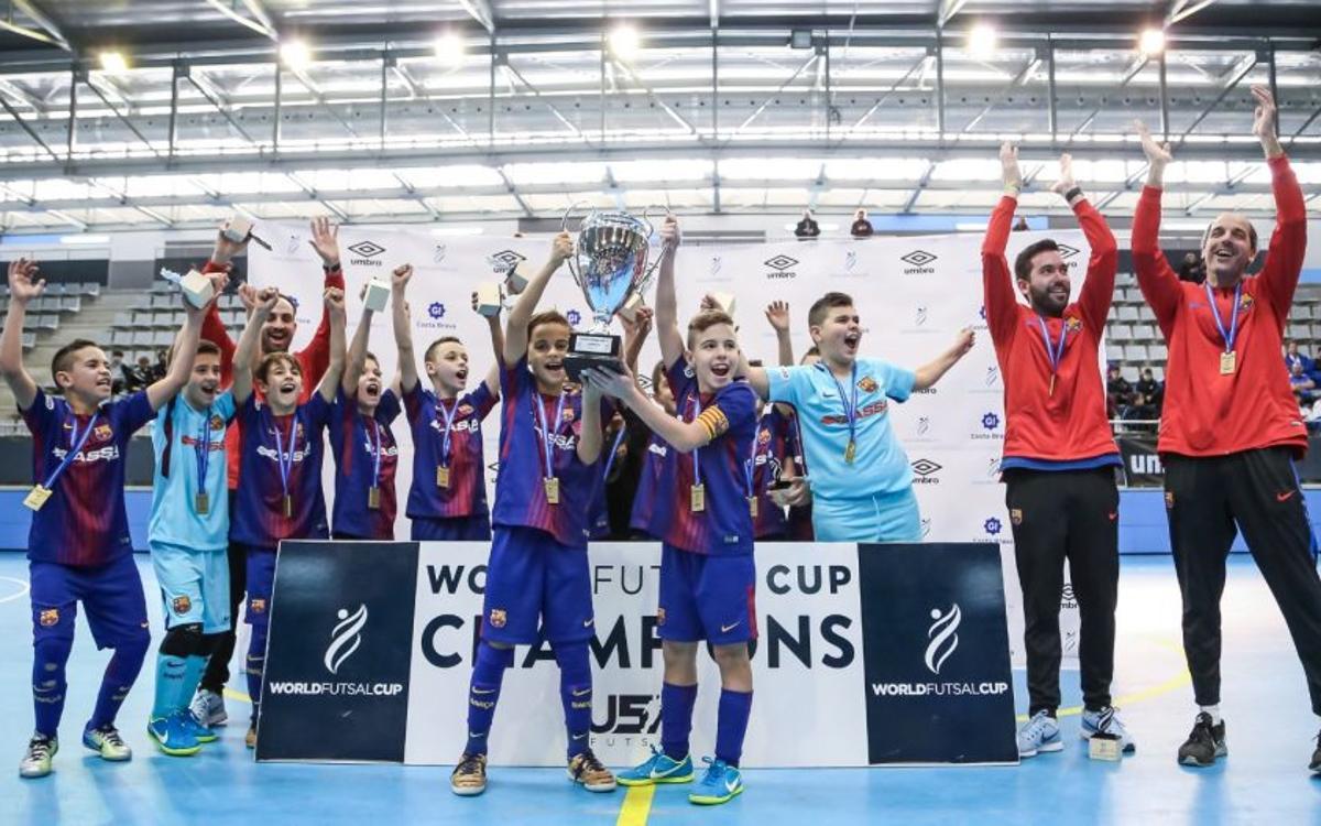Campeones de la World Futsal Cup