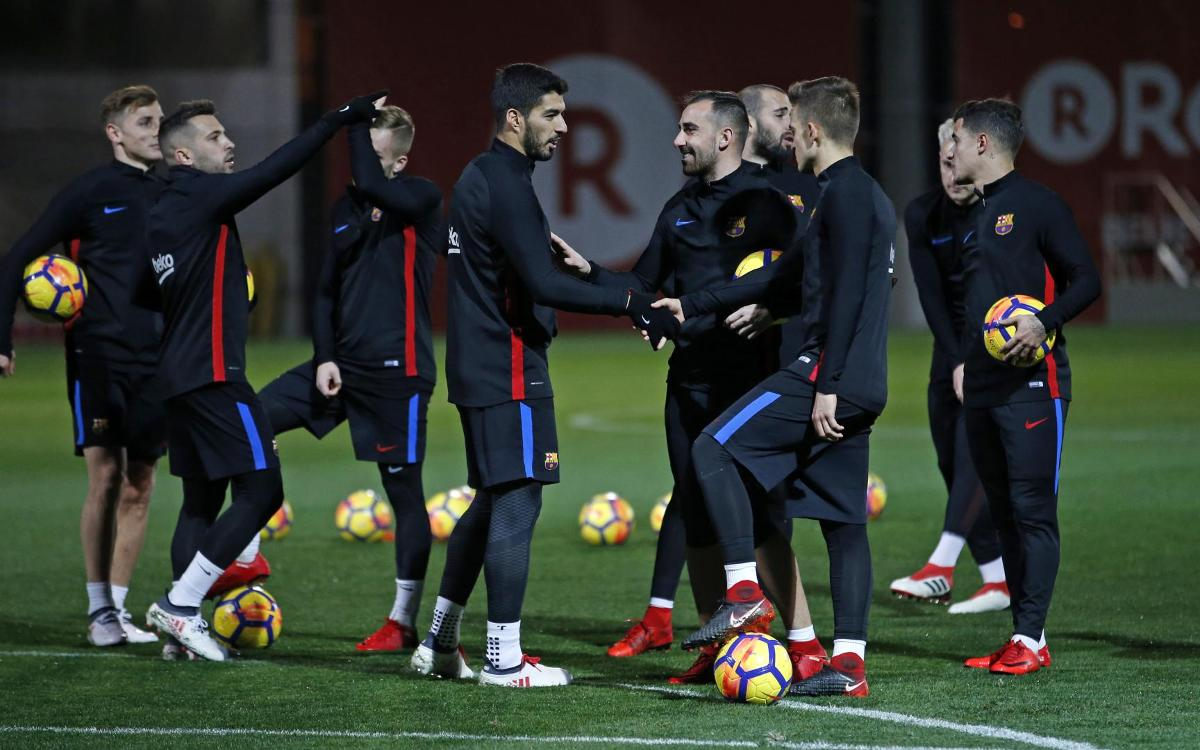 La convocatoria para el Barça-Alavés