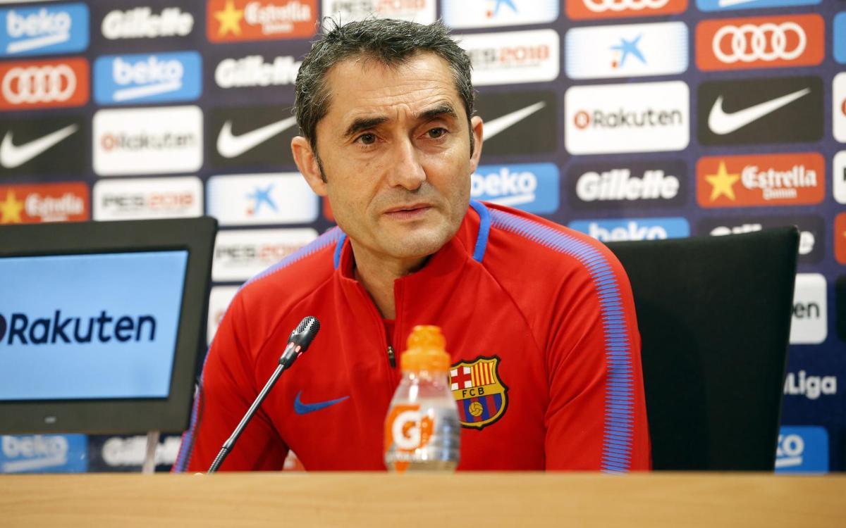 Ernesto Valverde expects tough test against 'valiant' Betis