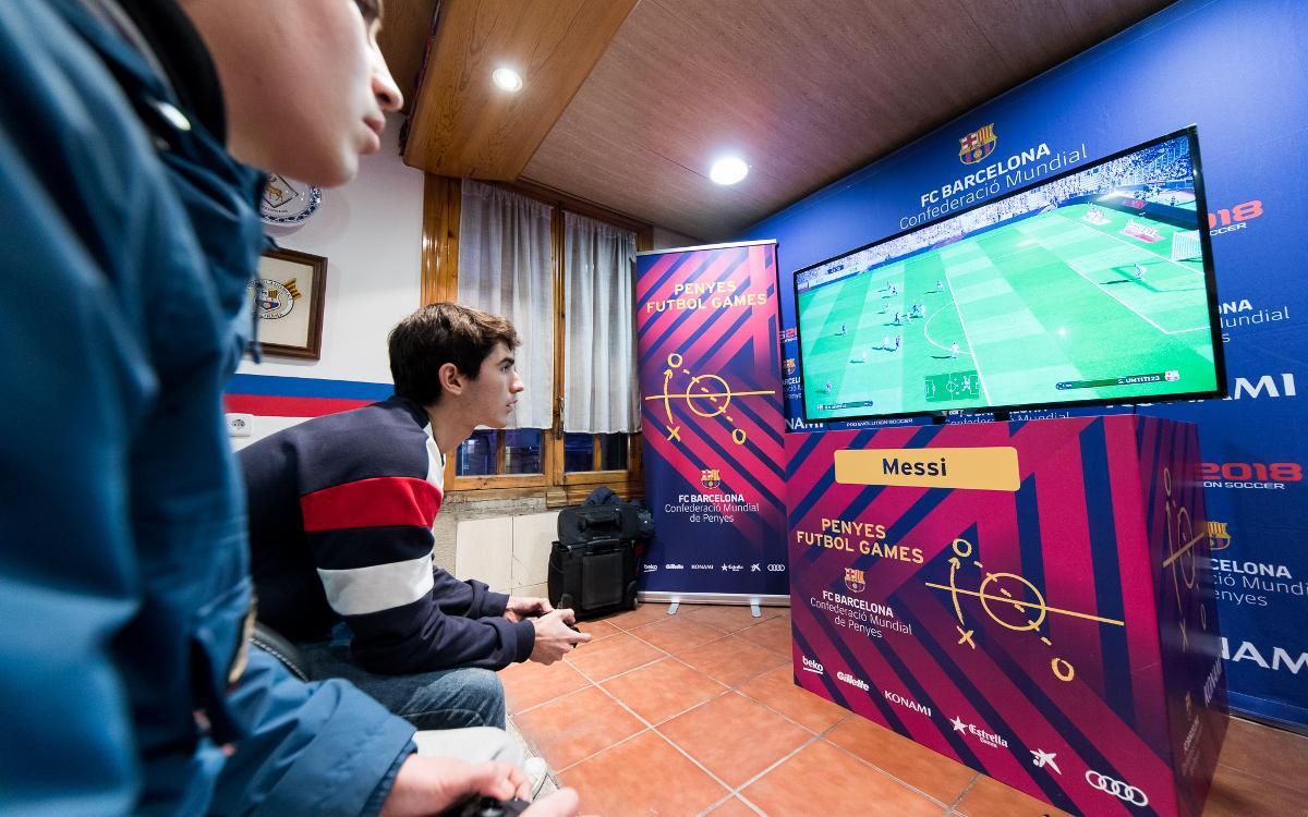 Llega el nuevo Torneo Penyes Futbol Games