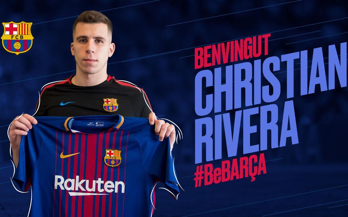 Acuerdo con la SD Eibar para la cesión de Rivera