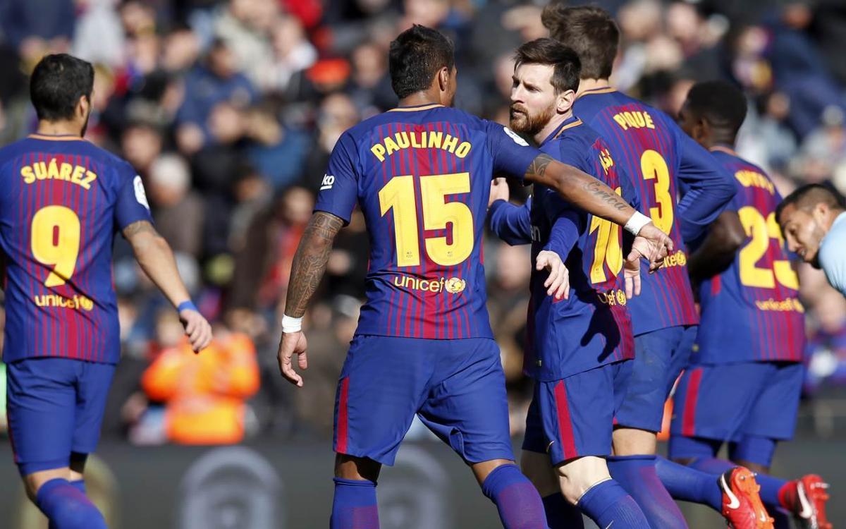FC バルセロナ - セルタ・デ・ビゴ : 首位を維持するドロー (2-2)