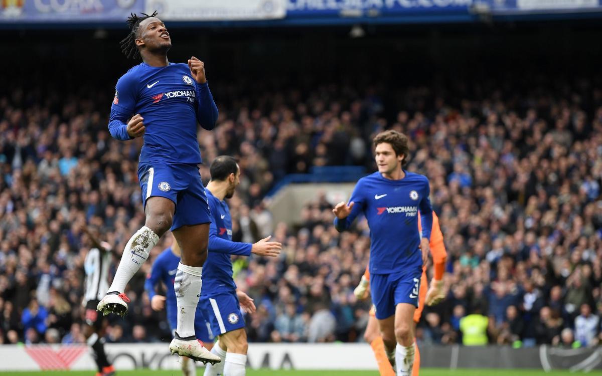Victoria del Chelsea en la FA CUP