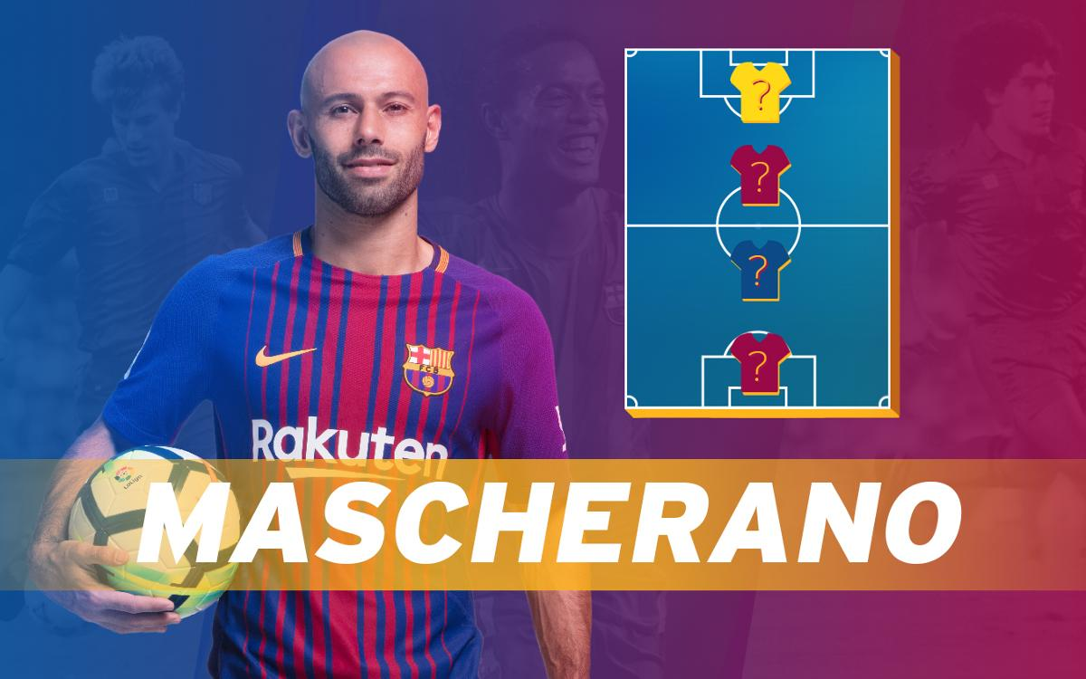 Find out Javier Mascherano's Top 4!