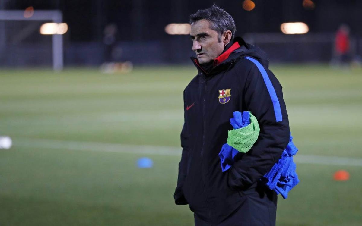 Ernesto Valverde: Chelsea is a tough draw