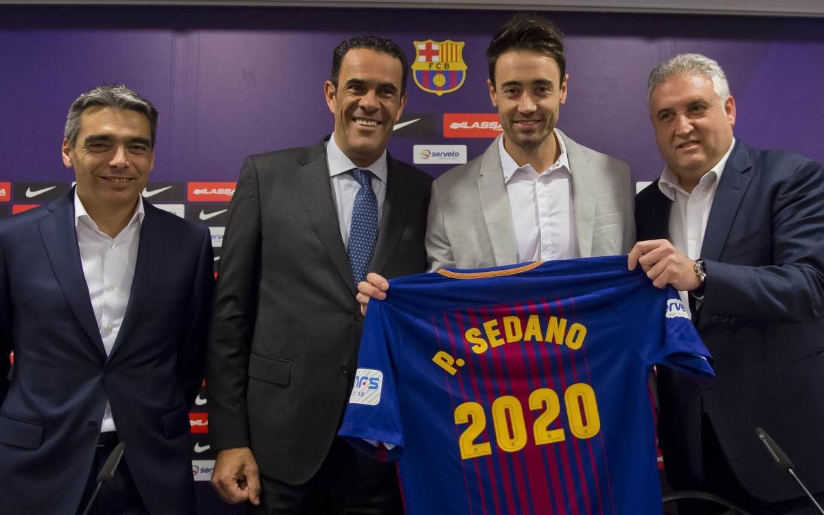 Paco Sedano renueva hasta 2020