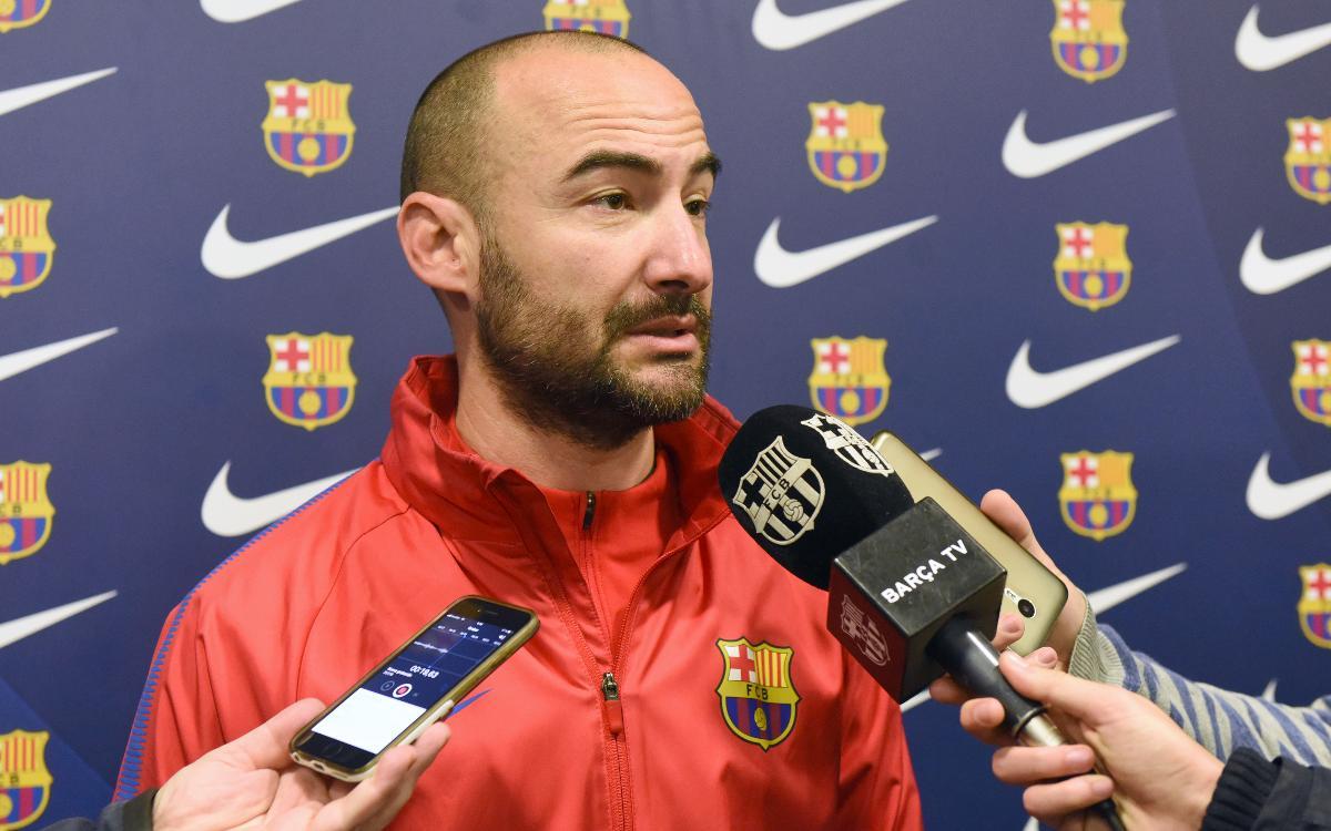 """Fran Sánchez: """"Tots els partits s'han de plantejar com finals"""""""