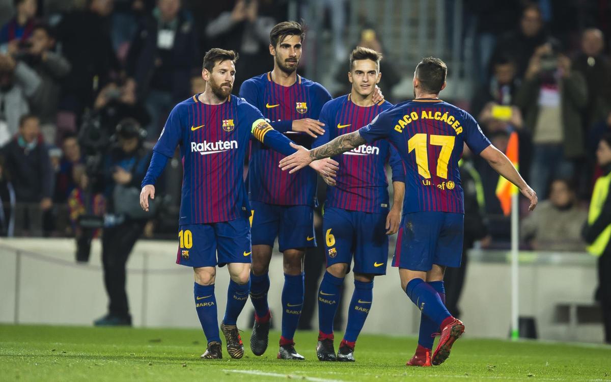 El resumen del Barça - Sporting Clube Portugal
