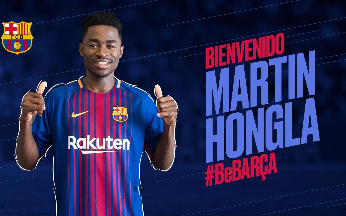 Acuerdo con el Granada CF para la cesión de Martin Hongla