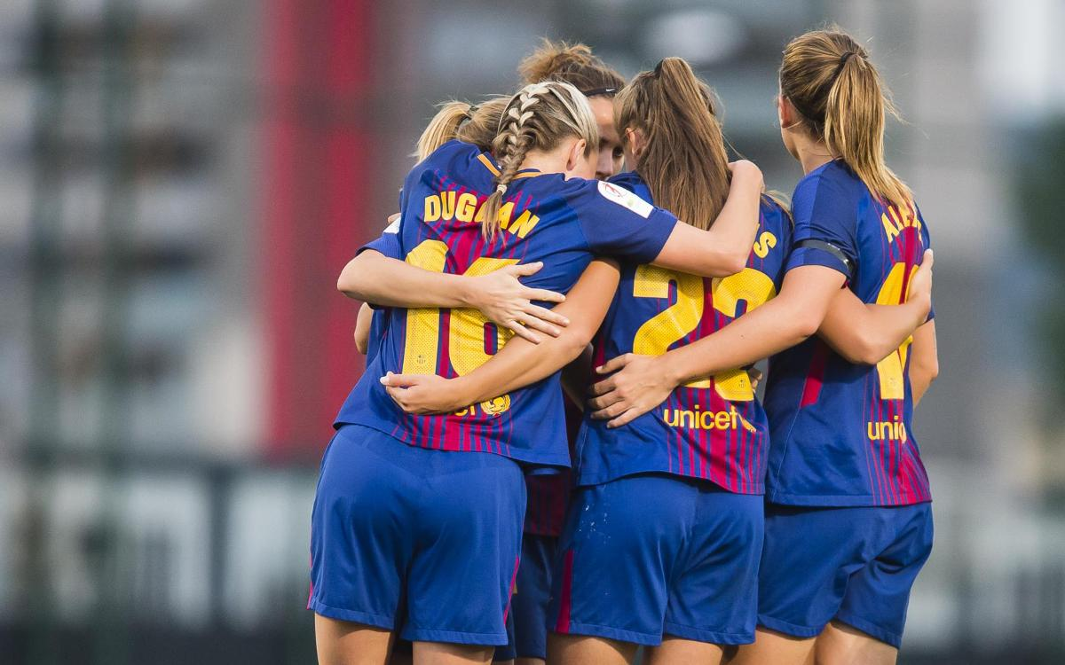 Barça Women - RCD Espanyol: Big win in the Catalan derby (4-0)