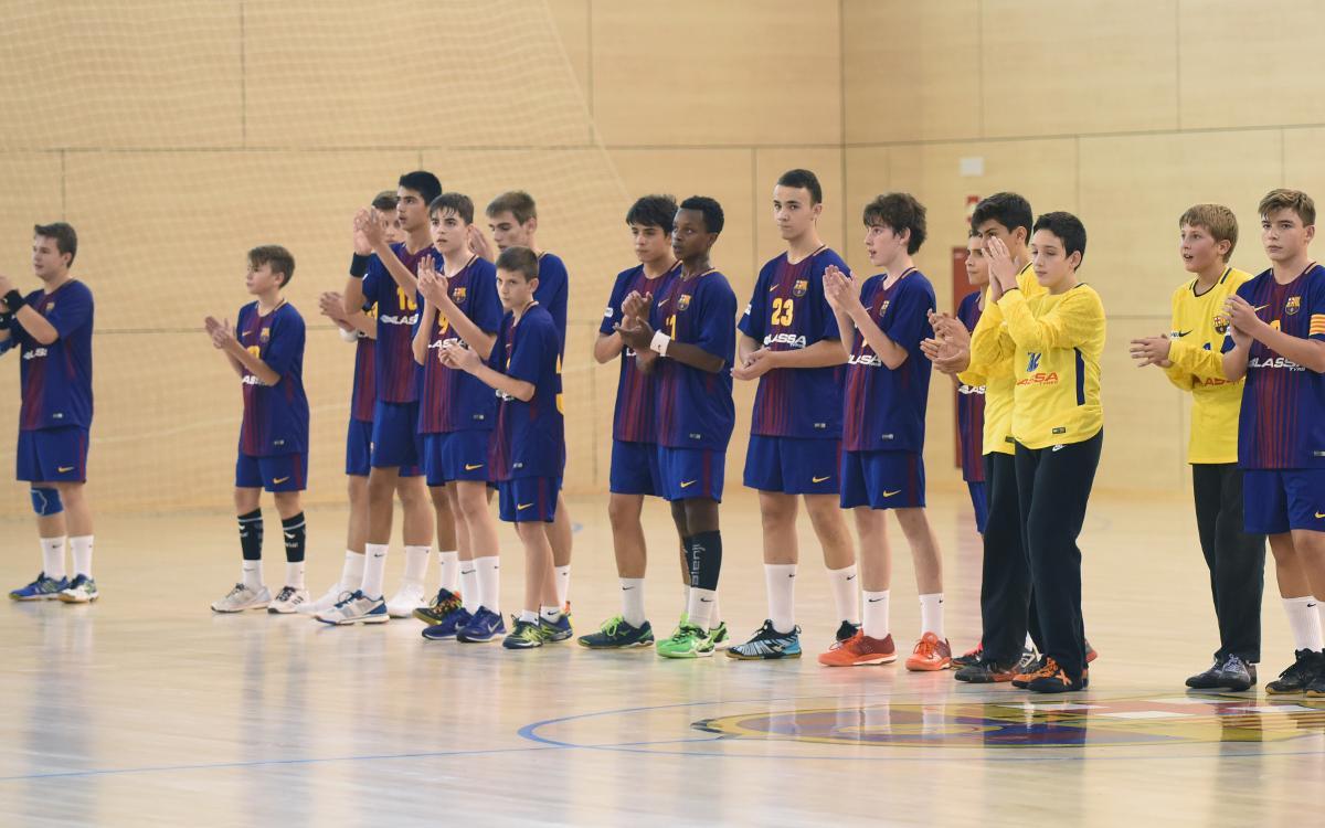 Las selecciones catalanas llenas de jugadores del Barça Lassa de balonmano