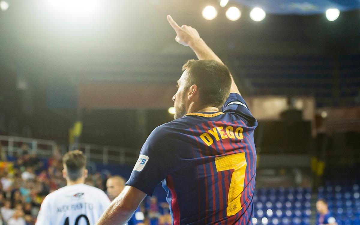 Dyego Zuffo y Paco Sedano, nominados a los Futsal Awards 2017