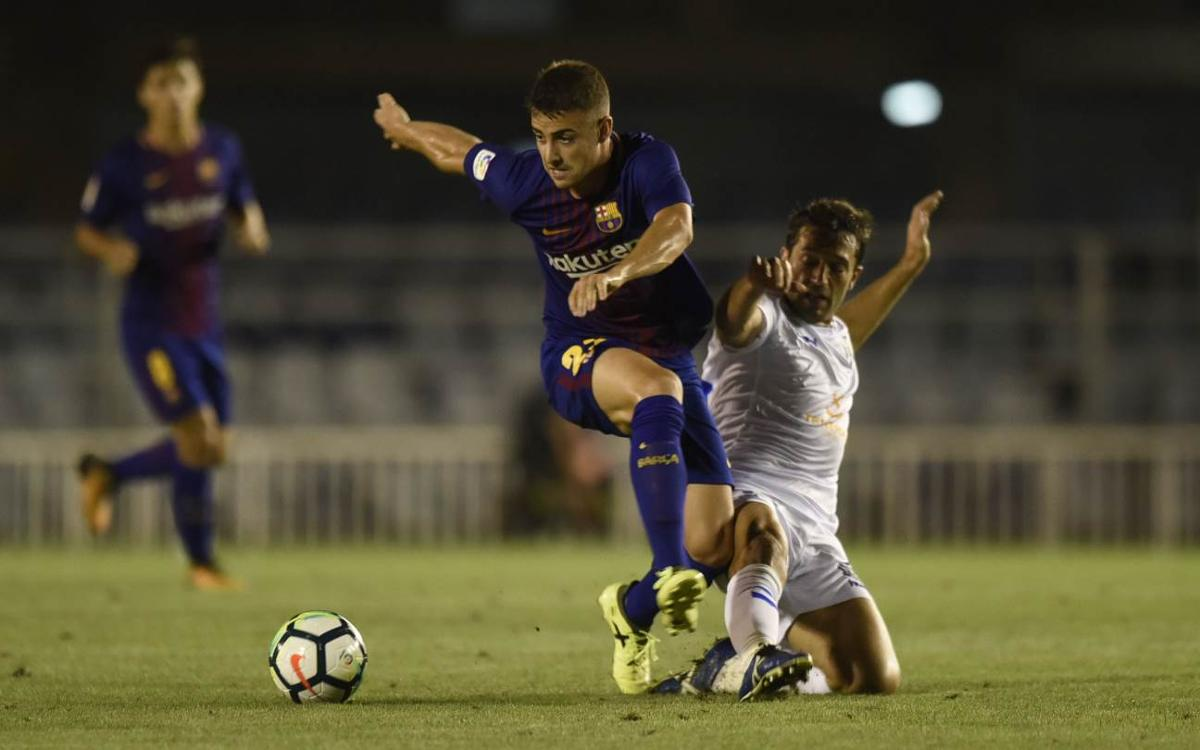 Barça B v Tenerife: Clinical Tenerife take points (3-0)
