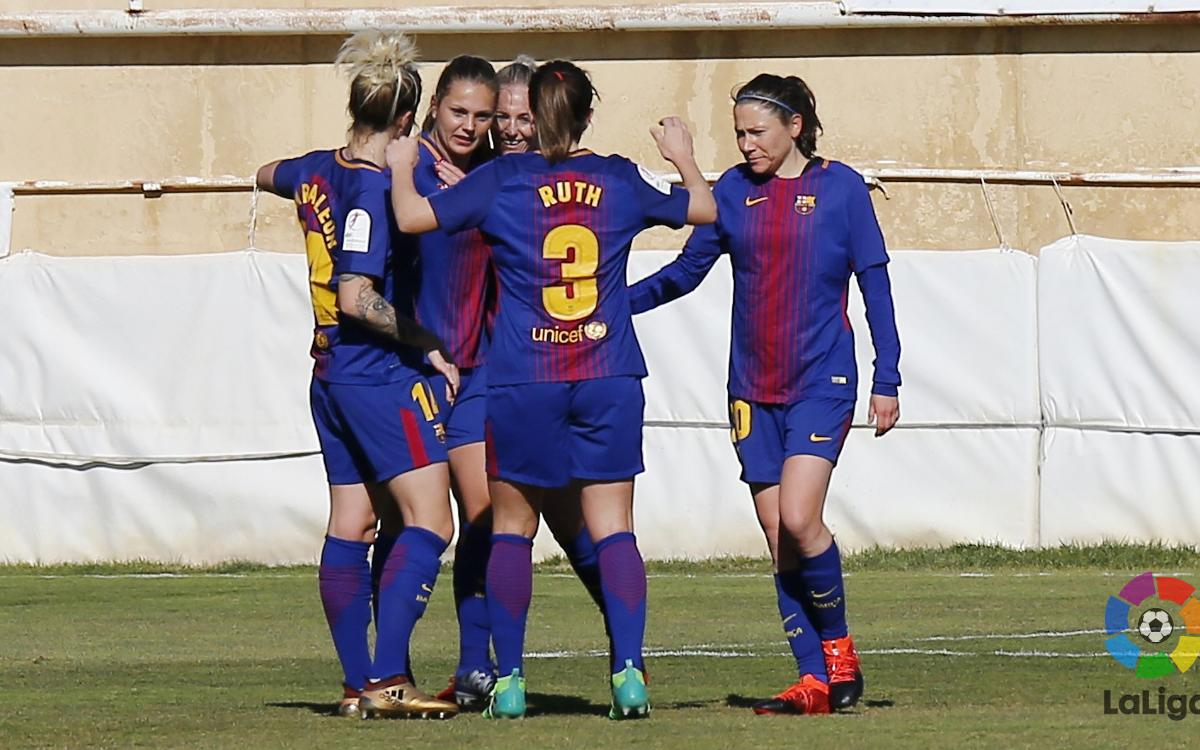 Fundación Albacete - FC Barcelona Femenino: Victoria de principio a fin (0-3)