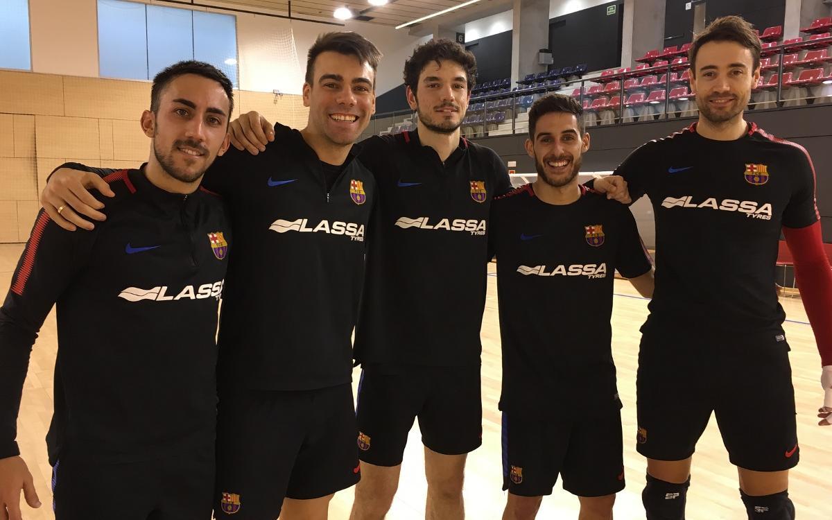 Cinco azulgranas en la lista de la selección española para el Europeo de Eslovenia