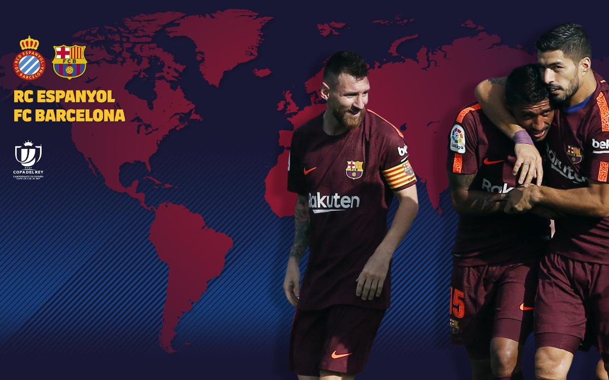 When and where to watch RCD Espanyol v FC Barcelona