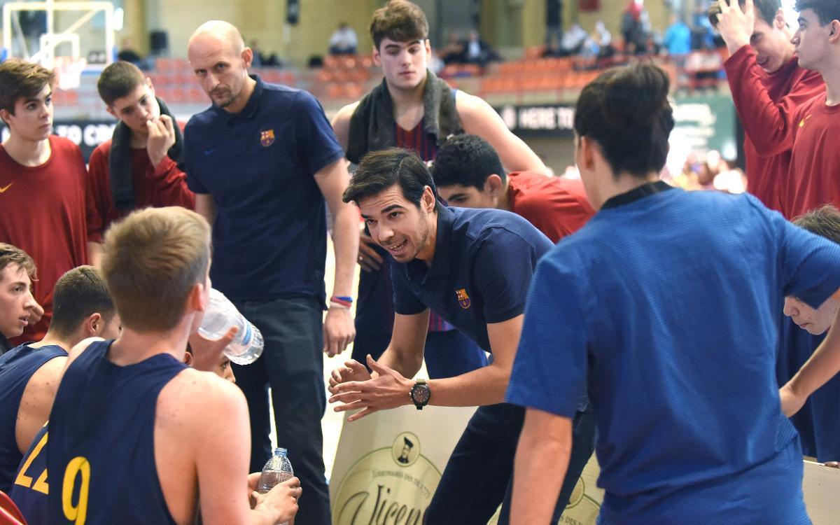 Barça Lassa U18 - Promitheas Patras (104-84): Siguen invictos en L'Hospitalet