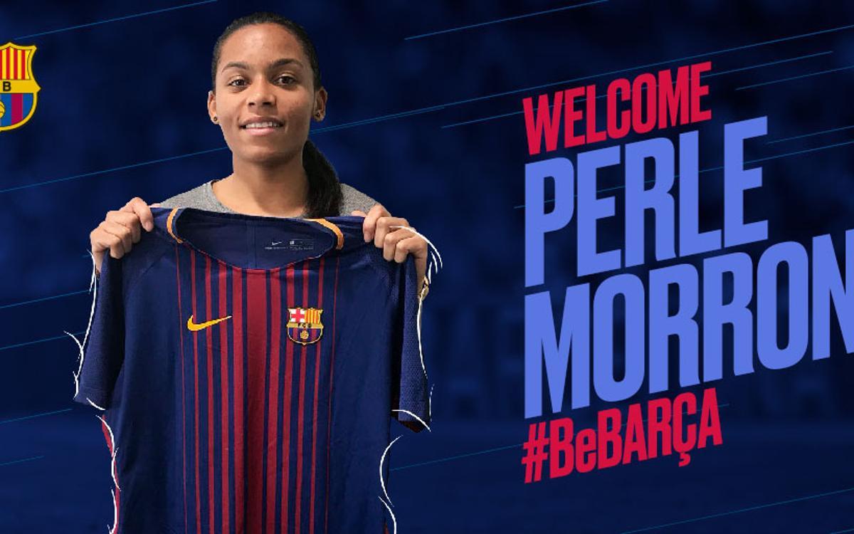 Morroni to strengthen Barça Women's squad
