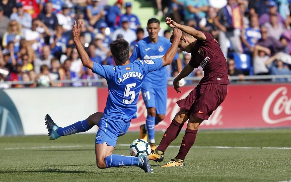 Kick-off time for Barça v Getafe
