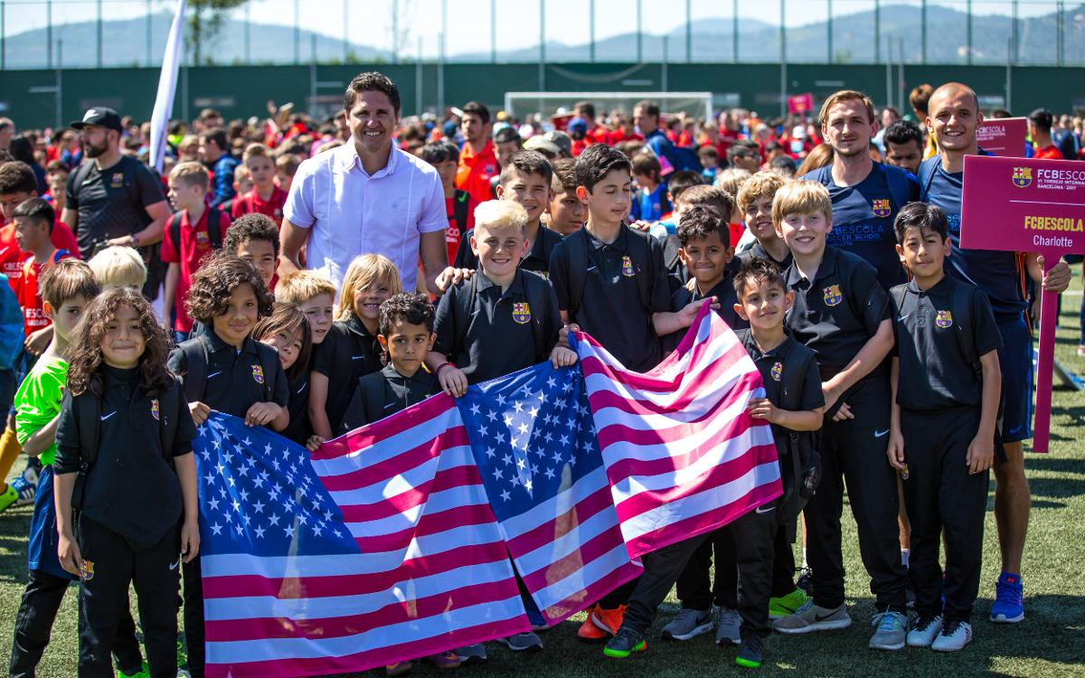 For parents and children alike, the FCBEscola International Tournament is a dream come true